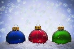 Weihnachtsflitter Stockfotos