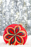 Weihnachtsflitter Stockfoto