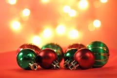 Weihnachtsflitter. Lizenzfreies Stockbild