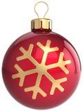 Weihnachtsflitter-Kugelklassiker Lizenzfreies Stockbild
