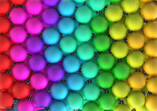 Weihnachtsflitter-Regenbogen XL Lizenzfreie Stockbilder