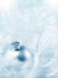 Weihnachtsflitter und -scheine Stockfoto