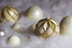 Weihnachtsflitteraufbau Lizenzfreie Stockfotos