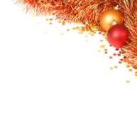 Weihnachtsflourish Stockfotografie