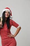 Weihnachtsfoto der Schönheit Lizenzfreie Stockfotos