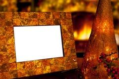 Weihnachtsfoto-Feld Lizenzfreie Stockbilder