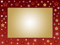 Weihnachtsfotofeld Lizenzfreies Stockbild