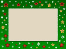 Weihnachtsfotofeld vektor abbildung