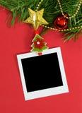Weihnachtsfotorahmen Lizenzfreie Stockfotografie