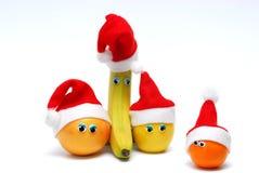 Weihnachtsfrüchte Stockfotos