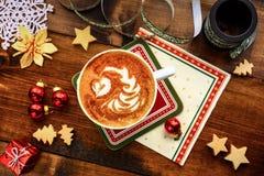 Weihnachtsfrühstück Stockfoto