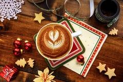 Weihnachtsfrühstück Stockbild