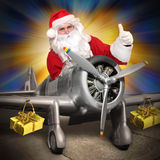 Weihnachtsfracht Stockfoto