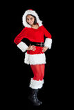 Weihnachtsfrau Lizenzfreie Stockfotografie
