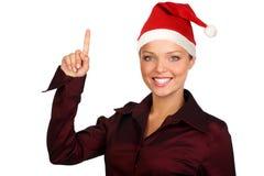 Weihnachtsfrau Lizenzfreies Stockfoto