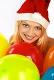 Weihnachtsfrau. stockfoto