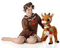 Weihnachtsfreunde Lizenzfreie Stockbilder