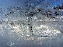 Weihnachtsfrost Stockfoto