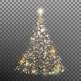 Weihnachtsfunkeln bokeh Lichter Vektor ENV 10 Lizenzfreie Stockbilder