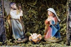 WeihnachtsGeburt Christi Lizenzfreie Stockfotografie