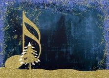 Weihnachtsgeburt christis-Grußkarten Stockbild