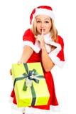 Weihnachtsgeheimnis Stockfoto
