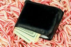 Weihnachtsgeld lang lizenzfreie stockfotografie