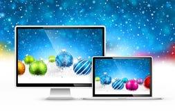 Weihnachtsgeräte Stockfotografie