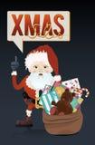 Weihnachtsgeschäft lizenzfreie stockfotos