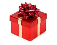 Weihnachtsgeschenk. Lizenzfreies Stockfoto