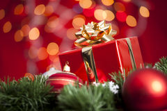 Weihnachtsgeschenk Lizenzfreies Stockfoto