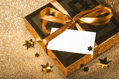 Weihnachtsgeschenk Stockfotografie