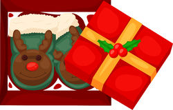 Weihnachtsgeschenk Lizenzfreie Stockbilder