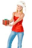 Weihnachtsgeschenk Stockbild