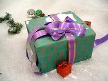 Weihnachtsgeschenk Stockfoto