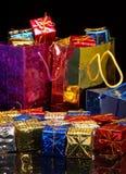 Weihnachtsgeschenk-Einkaufen stockbilder