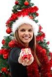 Weihnachtsgeschenk für Sie Lizenzfreies Stockfoto