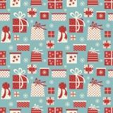 Weihnachtsgeschenk-Hintergrund Lizenzfreies Stockbild