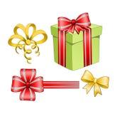 Weihnachtsgeschenk-Kasten stock abbildung