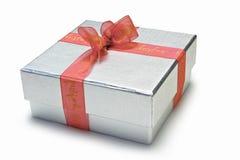 Weihnachtsgeschenk-Kasten Stockbild