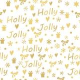 Weihnachtsgeschenk-Marken eingestellt Stockbilder