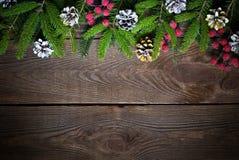 Weihnachtsgeschenk mit rabbon Stockfotografie