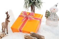 Weihnachtsgeschenk-Schutz Stockbilder