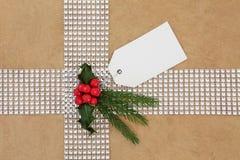 Weihnachtsgeschenk-Verpackung Lizenzfreie Stockfotos