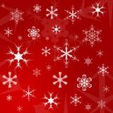Weihnachtsgeschenk-Verpackungspapier Lizenzfreie Stockfotos