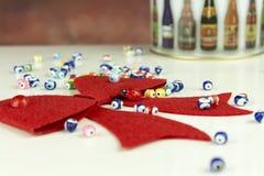Weihnachtsgeschenkdekoration Lizenzfreies Stockfoto