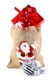 Weihnachtsgeschenke. stockfotografie