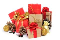 Weihnachtsgeschenke Lizenzfreies Stockbild