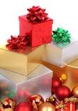 Weihnachtsgeschenke Stockfotografie