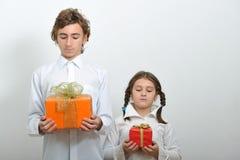 Weihnachtsgeschenke Stockfoto